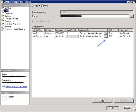 change nvram database file how to change autogrowth in sql server 2012
