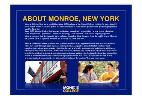 Mba Programs New York Times by College Ppt