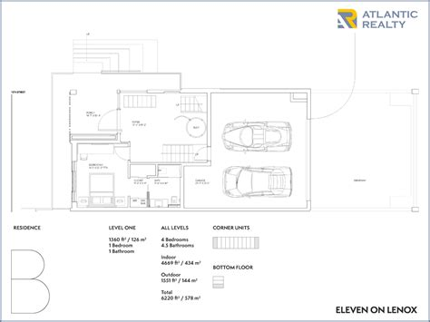 lenox floor plan eleven on lenox new miami florida beach homes