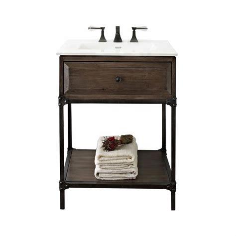 Bathroom Vanity Open Shelf Fairmont Designs Toledo 24 Quot Open Shelf Vanity 1401 Vh24 Bath Vanity From Home