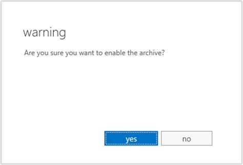 Office 365 In Place Archive Enable Office 365 Exchange Archive