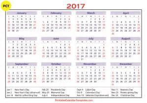 Calendar 2018 With Holidays Ontario 2017 Calendar With Holidays Ontario Calendar Printable Free
