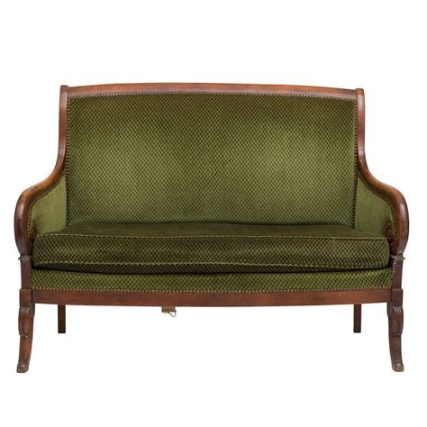 settees for sale french empire mahogany settee for sale at 1stdibs
