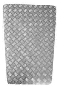 Bonnet Protector - 2mm Chequer Plate - Natural - Land