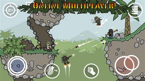 Doodle Army 2 Mini Militia Mod Apk Hack Fully Unlocked