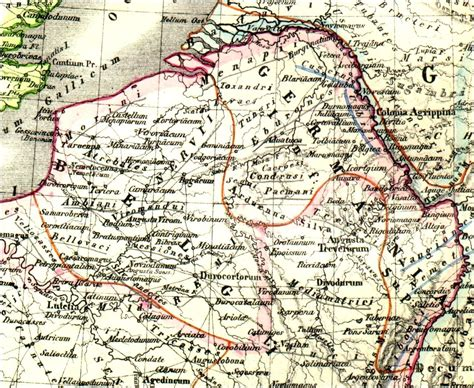 maps germania germania map images