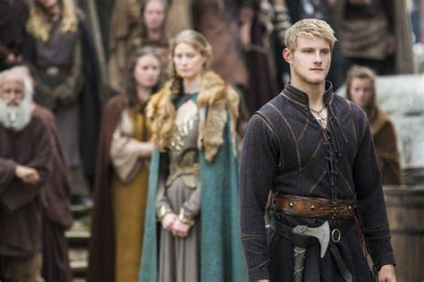 vikings alexander ludwig reveals 5 things about bjorn 17 best images about vikings on pinterest brad pitt