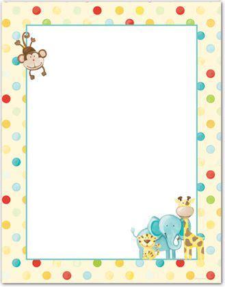 free printable zoo animal stationery baby zoo animals letterhead stationery letterhead 31909