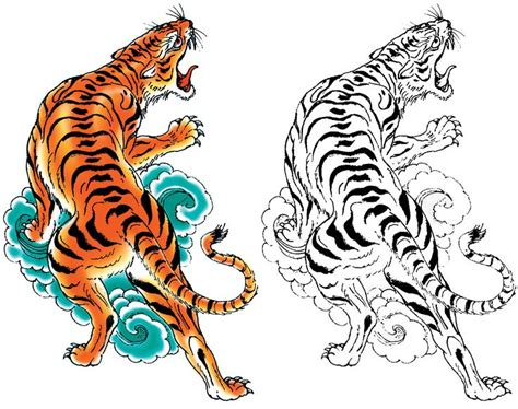 tattoo tribal tiger designs japanese tiger tattoo drawing www pixshark com images