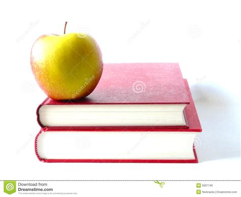 apple picture books books and apple royalty free stock images image 5607749