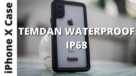 R Iphone X Waterproof Temdan Iphone X Waterproof Water Test