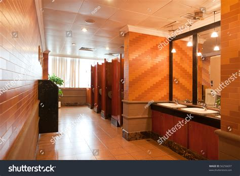 modern restrooms interior luxury restroom modern building stock