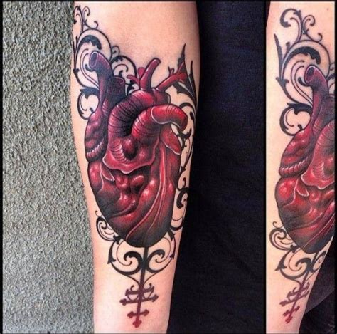 tattoo ornaments gallery heart with ornament forearm tattoo by jacob wiman