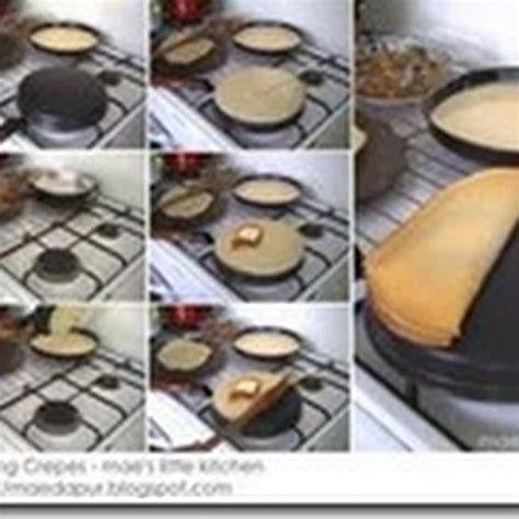 Wajan Crepes Listrik tips dan triks membuat crispy crepe q