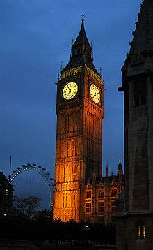 ben the free encyclopedia the tower at dusk with the eye in the background