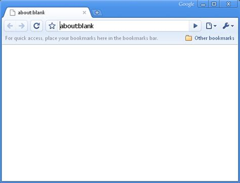 about blank google chrome blank page bug now fixed sort of