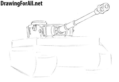 mobile 4 draw draw how to draw a tiger tank drawingforall net