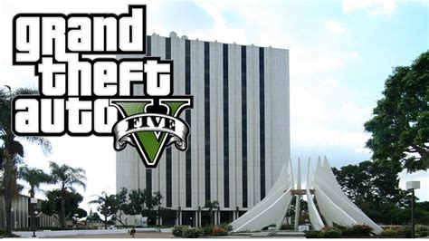 compton court house gta v compton courthouse youtube