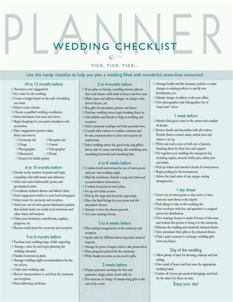 printable wedding director checklist wedding planner wedding planning checklist pinterest