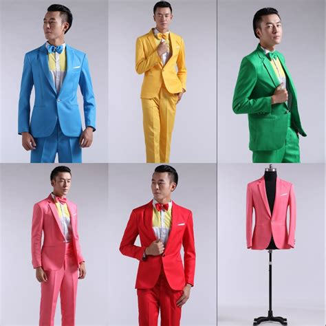 colorful suits jacket suit colorful suits wedding dress