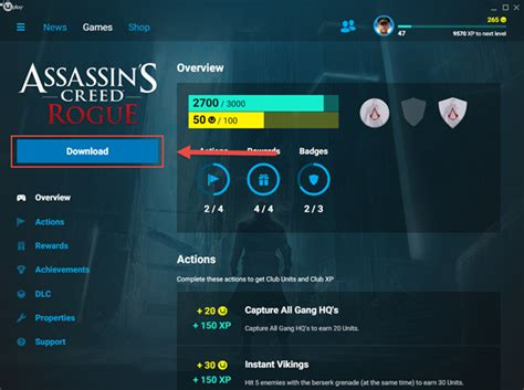 how to update uplay games install uninstall verify a game in uplay ubisoft