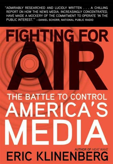 fighting for air the fighting series books fighting for air eric klinenberg macmillan