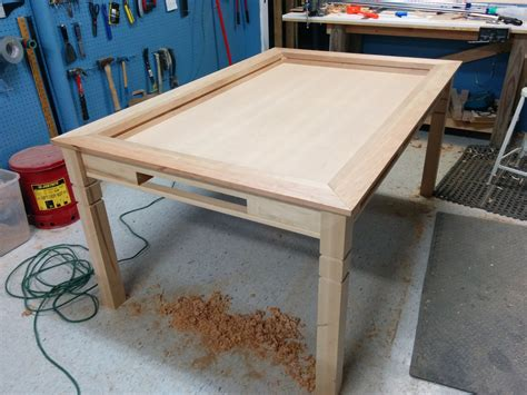 Kitchen Table Project Rob S Gaming Kitchen Table The Wood Whisperer