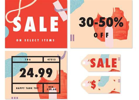 s s sale branding maggie chok graphic design bench li