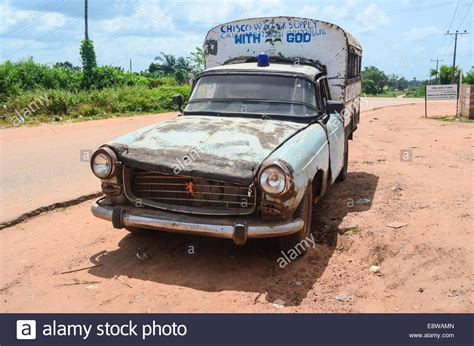 peugeot nigeria rural nigeria an peugeot 504 running with god near