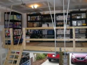 Garage With Loft Designs photo by ballantyne garage solutions garage loft storage