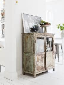 rustic and vintage kitchen design with modern shabby pieces antique island furniture used