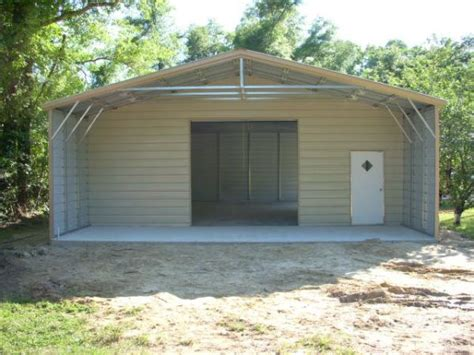 carport garage kombination 30x50 end combo carports