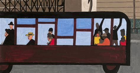 him the migrator series book 1 books review one way ticket at moma reunites jacob lawrence s