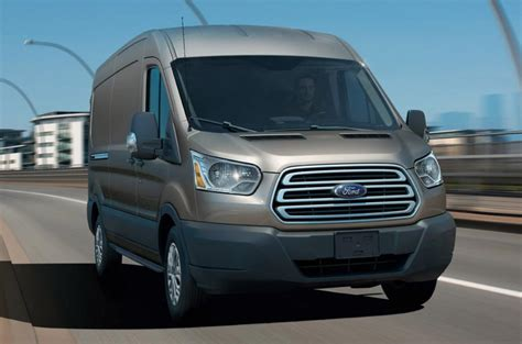 ford transit review  autocar