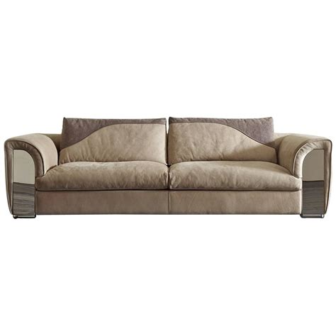 leather couches atlanta atlanta sofa with leather and shiny steel details for sale