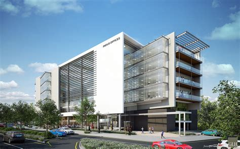 building design r750 million trio of new a grade offices to go up in