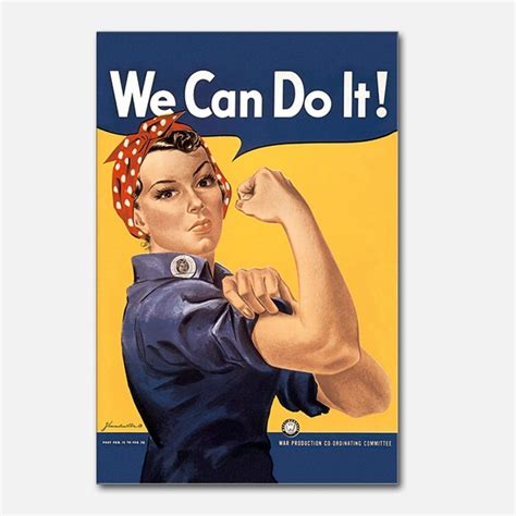 rosie the riveter we can do it postcards rosie the