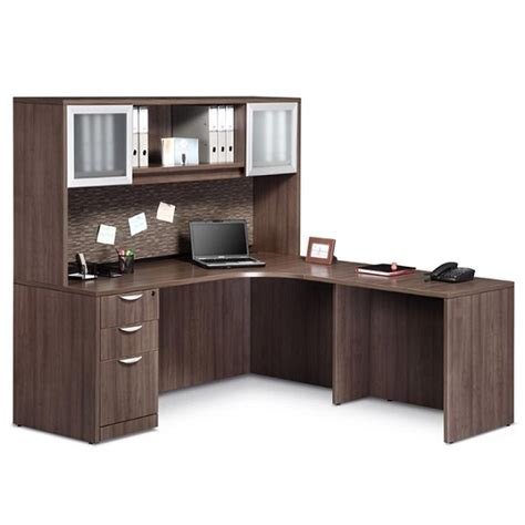 Ndi Office Furniture Executive L Shaped Desk Pl24 L Office Furniture L Shaped Desk