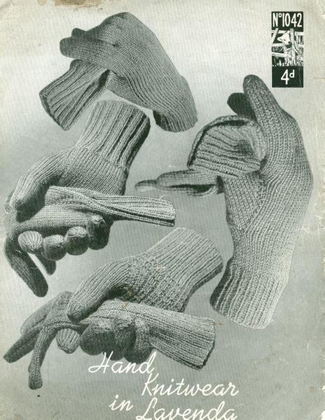vintage glove pattern vintage mens gloves hats and scarves knitting patterns