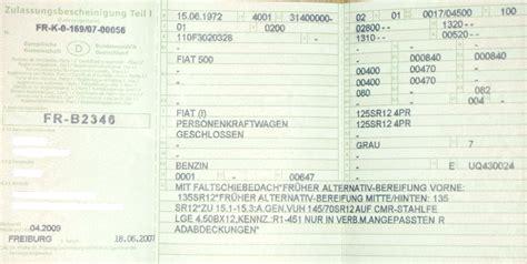 Tieferlegen Ohne Eintragung by 500er Fiat 187 Eintragungen