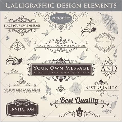 font design elements 1000 images about fonts calligraphic elements on