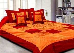 maroon bed sheets buy handmade block printed bed sheets online jaipur fabric
