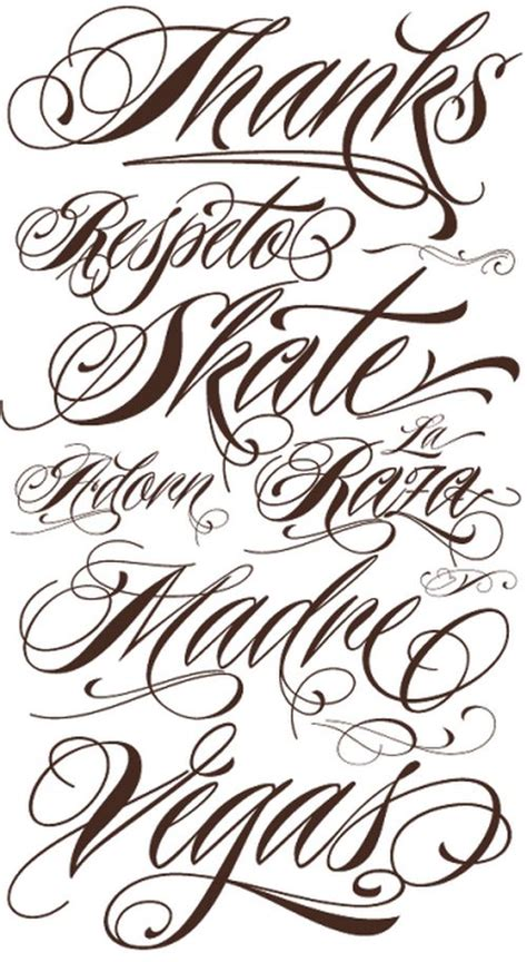 tattoo fonts pinterest tattoo lettering fonts script tattoos pinterest