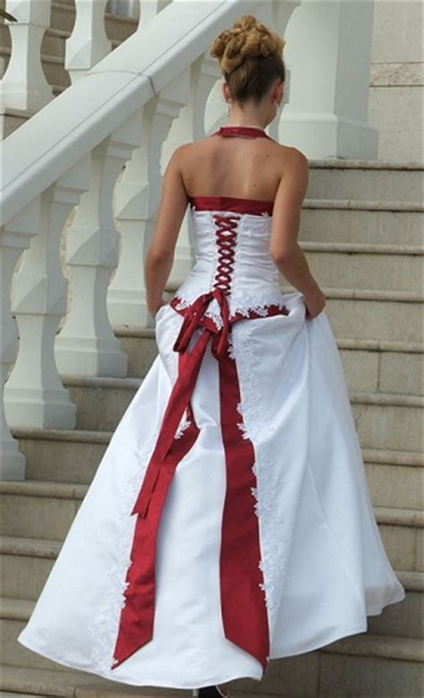 White and red wedding dresses enter your blog name here