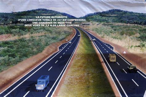 segou 1 les murailles de autoroute de bamako s 233 gou plus de 68 des travaux r 233 alis 233 s