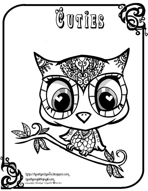 coloring page of owl cute owl coloring pages coloring home