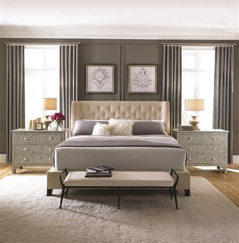 Bernhardt Bedroom | maxime herringbone mansfield bedroom bernhardt