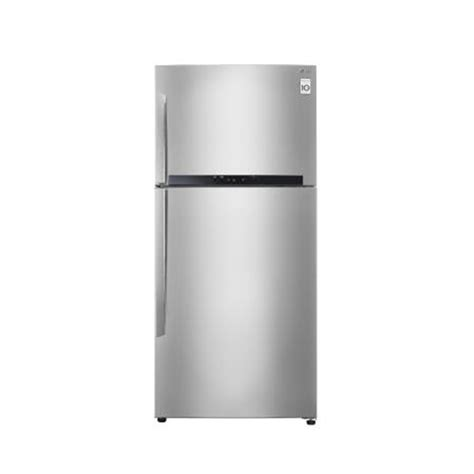 Kulkas Freezer Lg 6 Rak Bekas lg gn m602hlhl kulkas 2 pintu 600liter warna silver elevenia