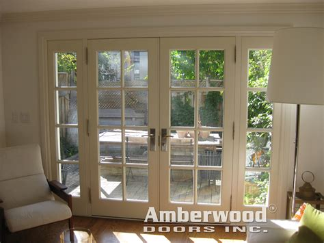 Patio Doors With Side Windows This Beautiful Amberwood Mahogany Door With 2 Sidelights Opens Onto A Lovely Patio
