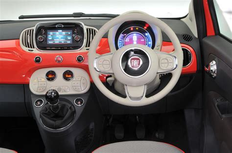 Different Interior Styles by Fiat 500 Review Autocar